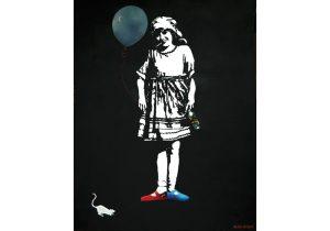 Fig. 9. Minor Sins 2009, Acrylic on Canvas, 144 x 113 cm