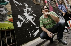 Blek Le Rat in Melbourne, 2009