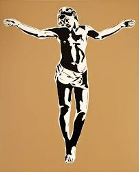 Fig 3. Jesus 2009, Screen print on 300gsm Paper, 88 x 73 cm.