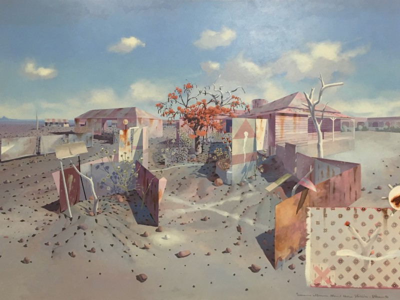 Tim Storrier 'Summer Afternoon, Mount Hope Station' 1974