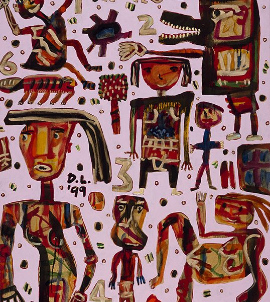 David Larwill 'Navajo' 1999